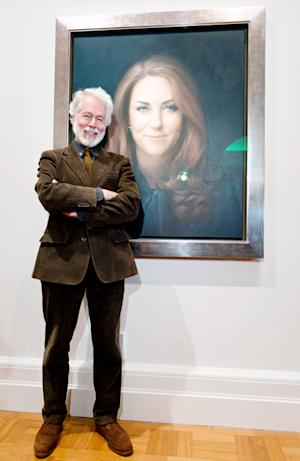 "Kate Middleton's Portrait Artist Paul Emsley Responds to ""Vicious"" Criticism"