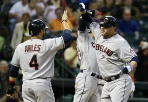 Indians stop slide with 19-6 win over Astros