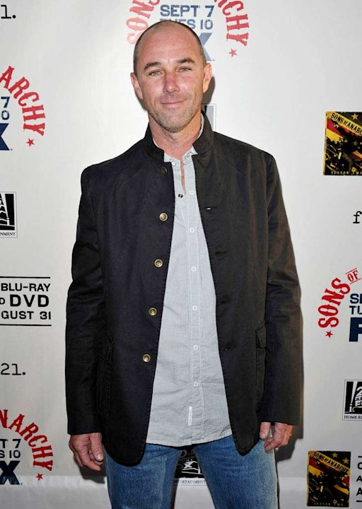 Jamie McShane attends FX's &quot;Sons Of Anarchy&quot; Season 3 premiere on August 30, 2010, in Hollywood. 