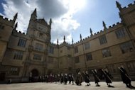 Oxford University in Oxford, northwest of London. US and British universities continue to dominate in academic excellence but Asia is catching up fast, according to an influential education rankings report