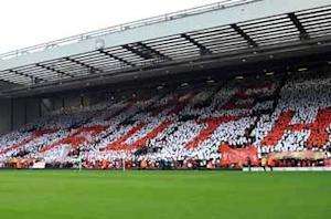 Emotional Anfield commemorates Hillsborough victims