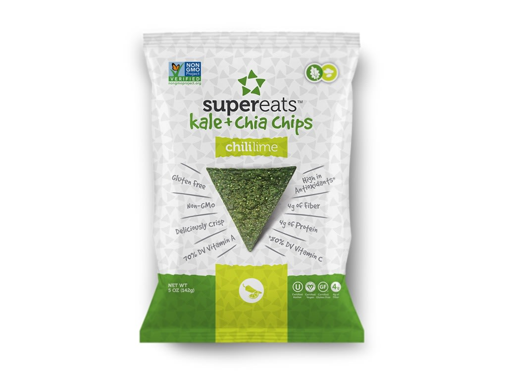 Snacks under a dollar kale chia chips