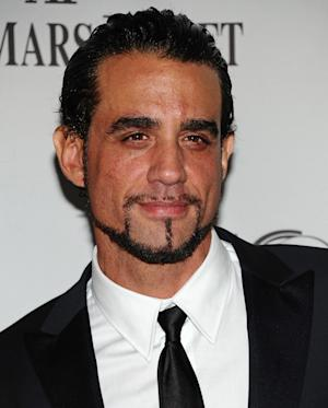 """FILE - In this June 12, 2011 file photo, actor Bobby Cannavale arrives at the 65th annual Tony Awards in New York. Cannavale will star as Nick Arnstein opposite Lauren Ambrose, who will star as Fanny Brice, in the revival of """"Funny Girl,"""" playing at Center Theatre Group/Ahmanson Theatre in Los Angeles from Jan. 15 through Feb. 26, 2012. (AP Photo/Charles Sykes, file)"""
