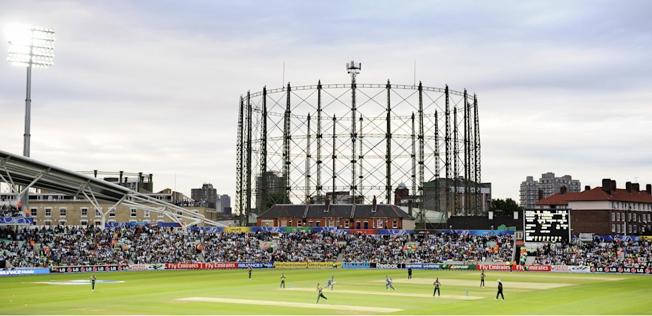 A general view of The Oval cricket stadi