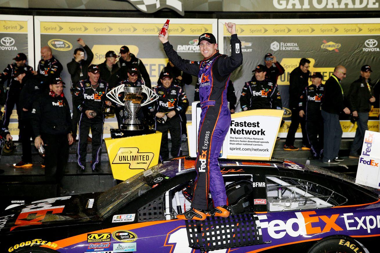 Sprint Unlimited 2016 results: Denny Hamlin wins exhibition opener at Daytona