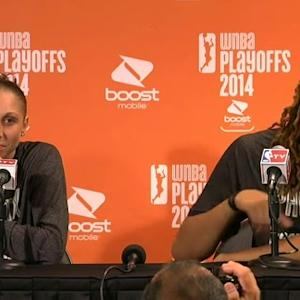 Postgame: Taurasi and Griner