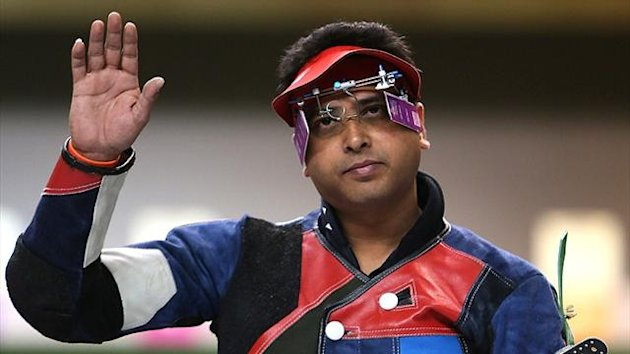 India's Olympic shooter Joydeep Karmakar (Reuters)