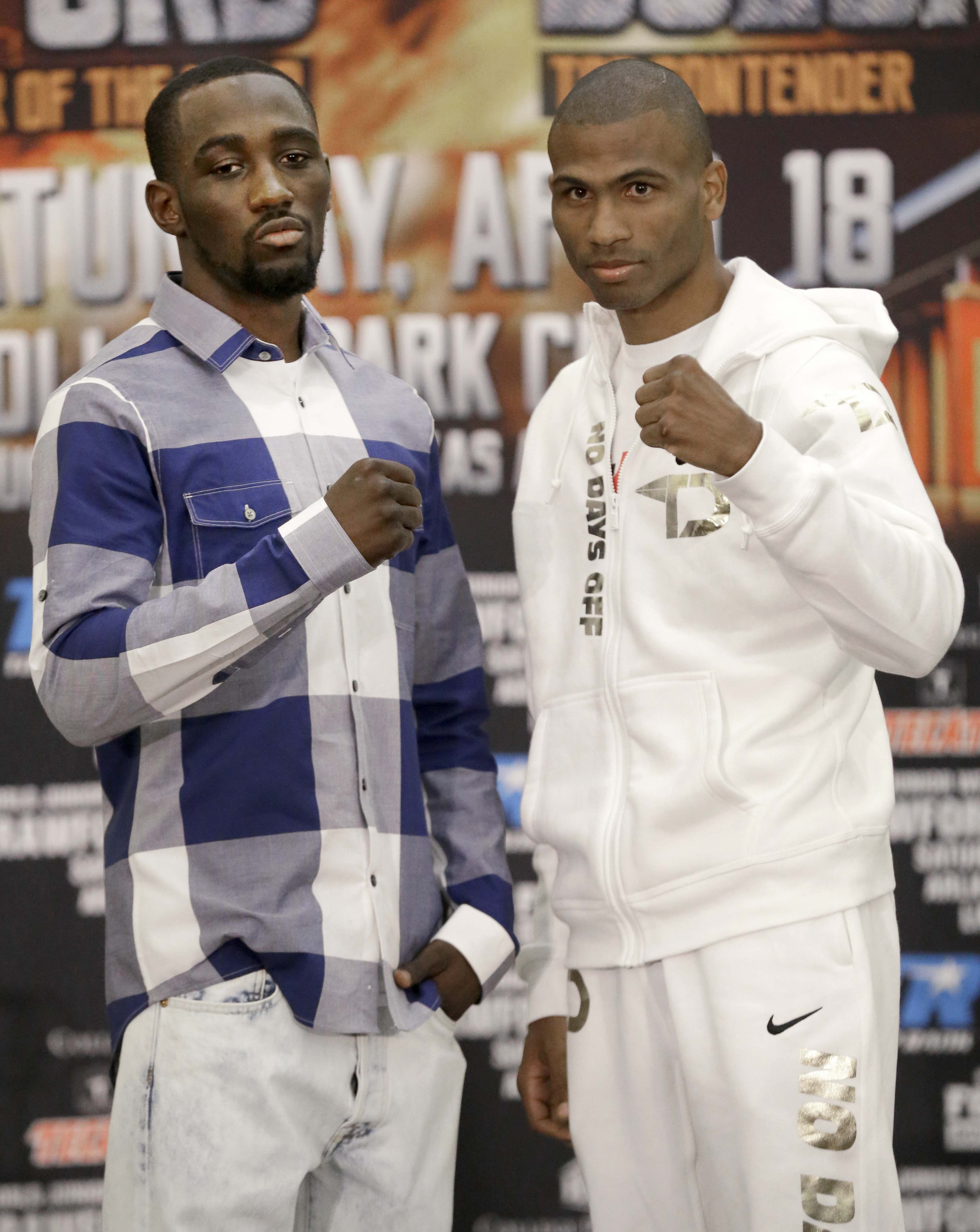 Crawford moves up with shot at WBO junior welterweight title