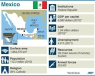 &lt;p&gt;Fact file on Mexico. Enrique Pena Nieto delivered a stunning return to power for Mexico&#39;s once-reviled PRI party, but the president-elect faces a stiff challenge in cutting poverty and clamping down on rampant drug violence.&lt;/p&gt;