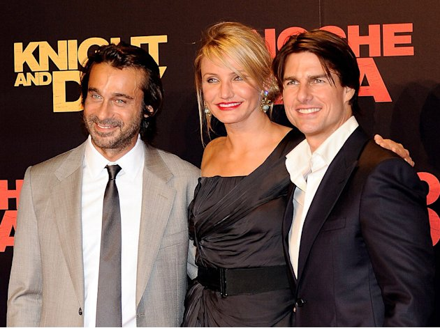 Knight and Day Spanish Premiere 2010 Jordi Molla Cameron Diaz Tom Cruise