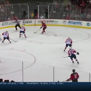 Roberto Luongo Save on Steve Bernier (19:58/2nd)