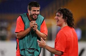 Pique pens thank you to departing Puyol