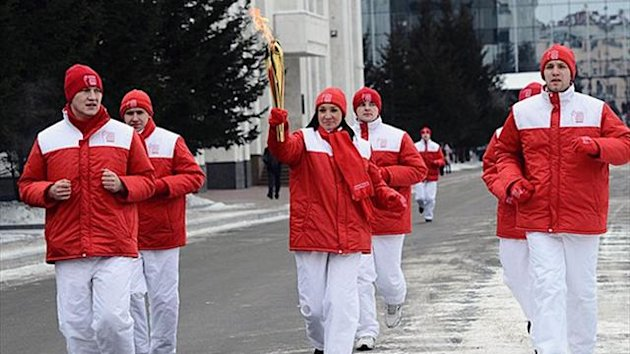 The FISU Summer Universiade flame arrives in Khabarovsk