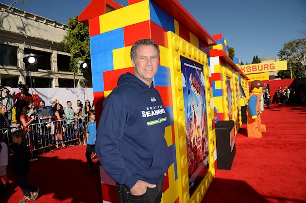 Will Ferrell at 'The Lego Movie' in Los Angeles on Saturday