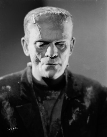 Boris Karloff in &#39;Bride of Frankenstein,&#39; directed by James Whale, 1935 -- Getty Images