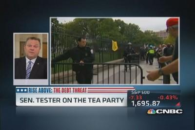 Political stunts need to stop: Sen. Tester