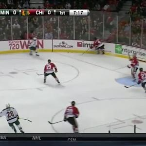 Minnesota Wild at Chicago Blackhawks - 12/16/2014