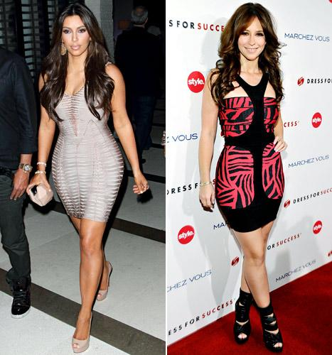 Kim Kardashian, Jennifer Love Hewitt and More Stars Who Love Herve Leger Dresses