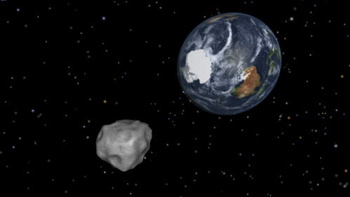 Today's Asteroid Flyby a Wakeup Call, Scientists Say