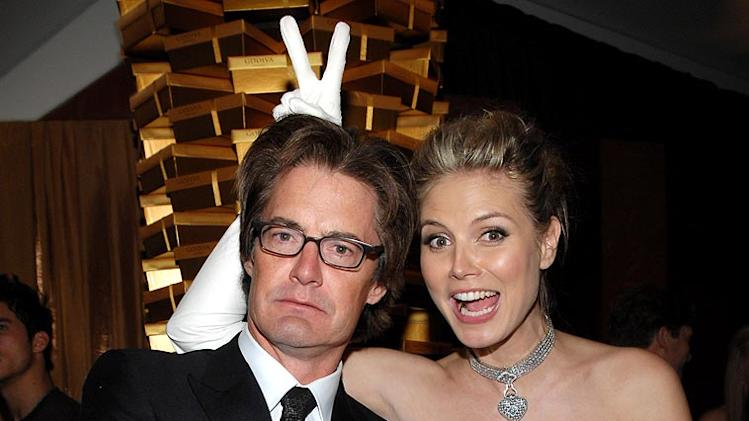 Kyle MacLachlan and Heidi Klum at the In Style and Warner Bros. 2007 Golden Globe After Party.