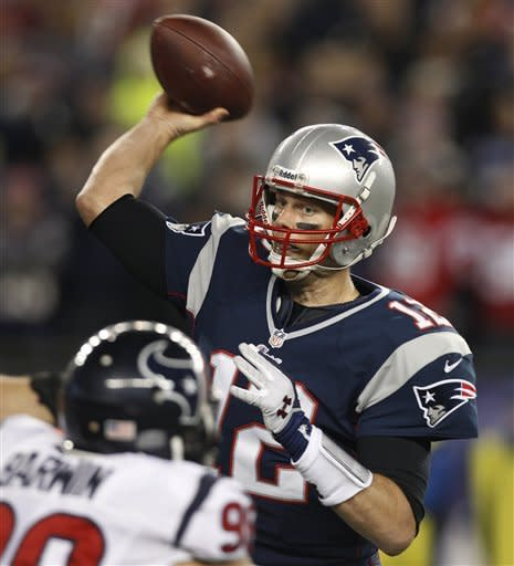 Patriots beat Texans 41-28, Ravens up next