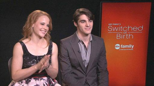 RJ Mitte & Katie LeClerc Talk Salsa Dancing On 'Switched at Birth'