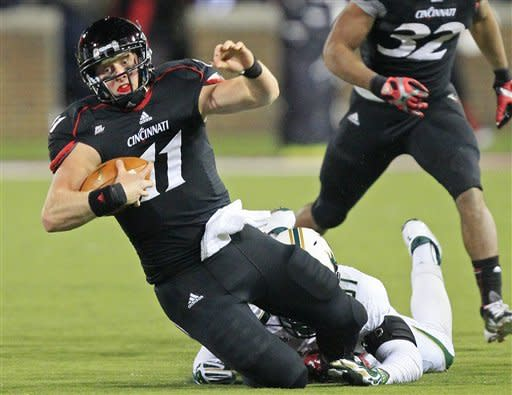 Kay leads Cincinnati over South Florida 27-10
