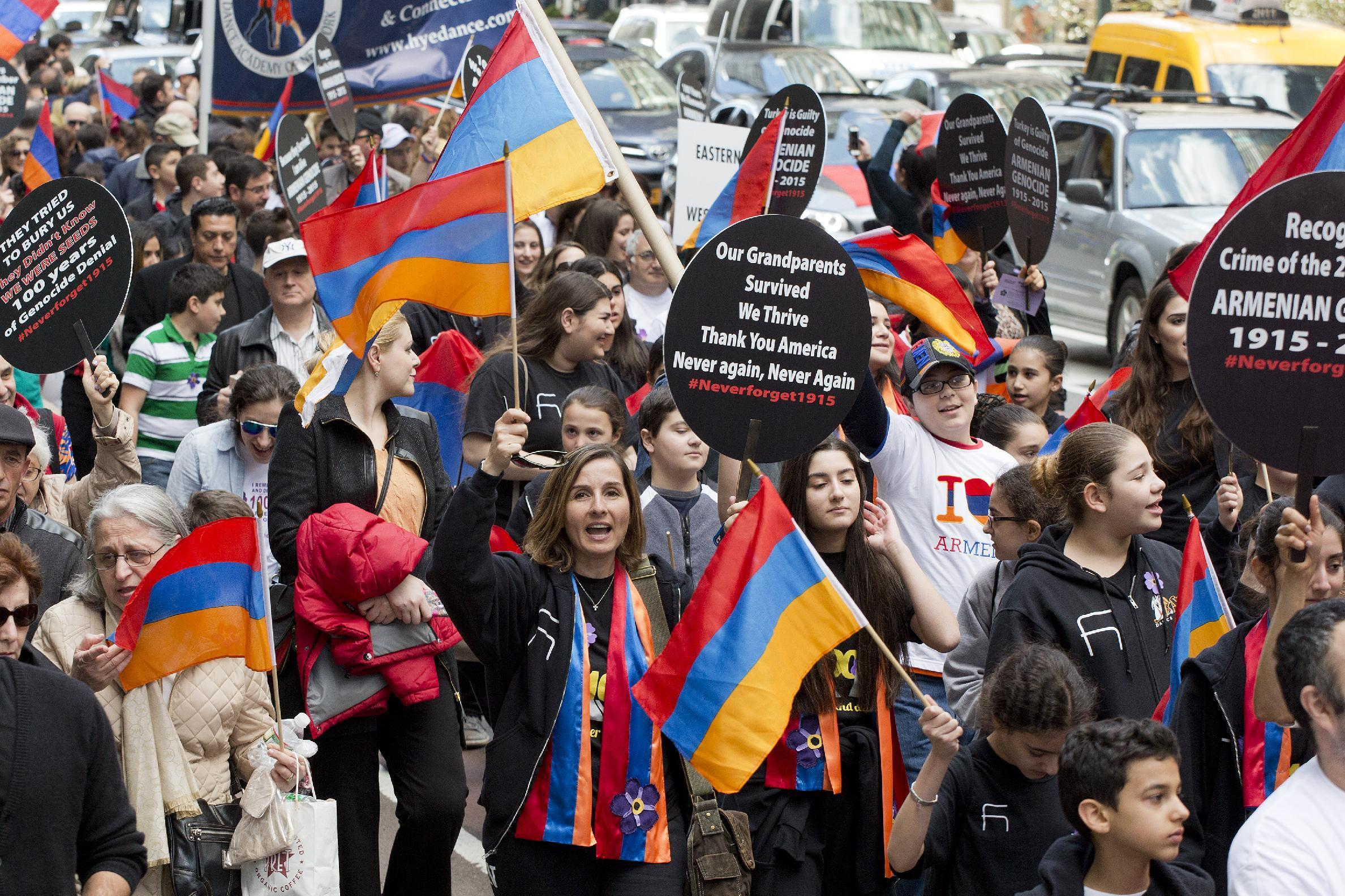 Centenary of 1.5 million Armenian deaths marked in NYC