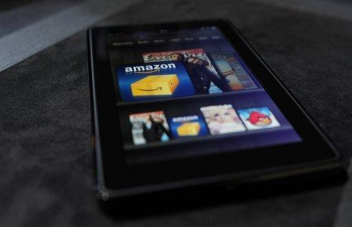 El Kindle Fire de Amazon
