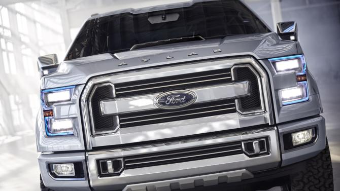 Ford Atlas pickup concept