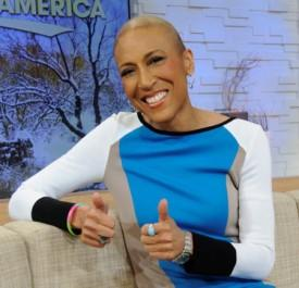 Robin Roberts Visits 'Good Morning America' Set For Test Run