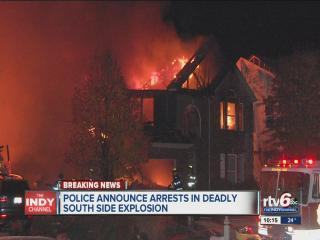 3 arrested in Indy explosion