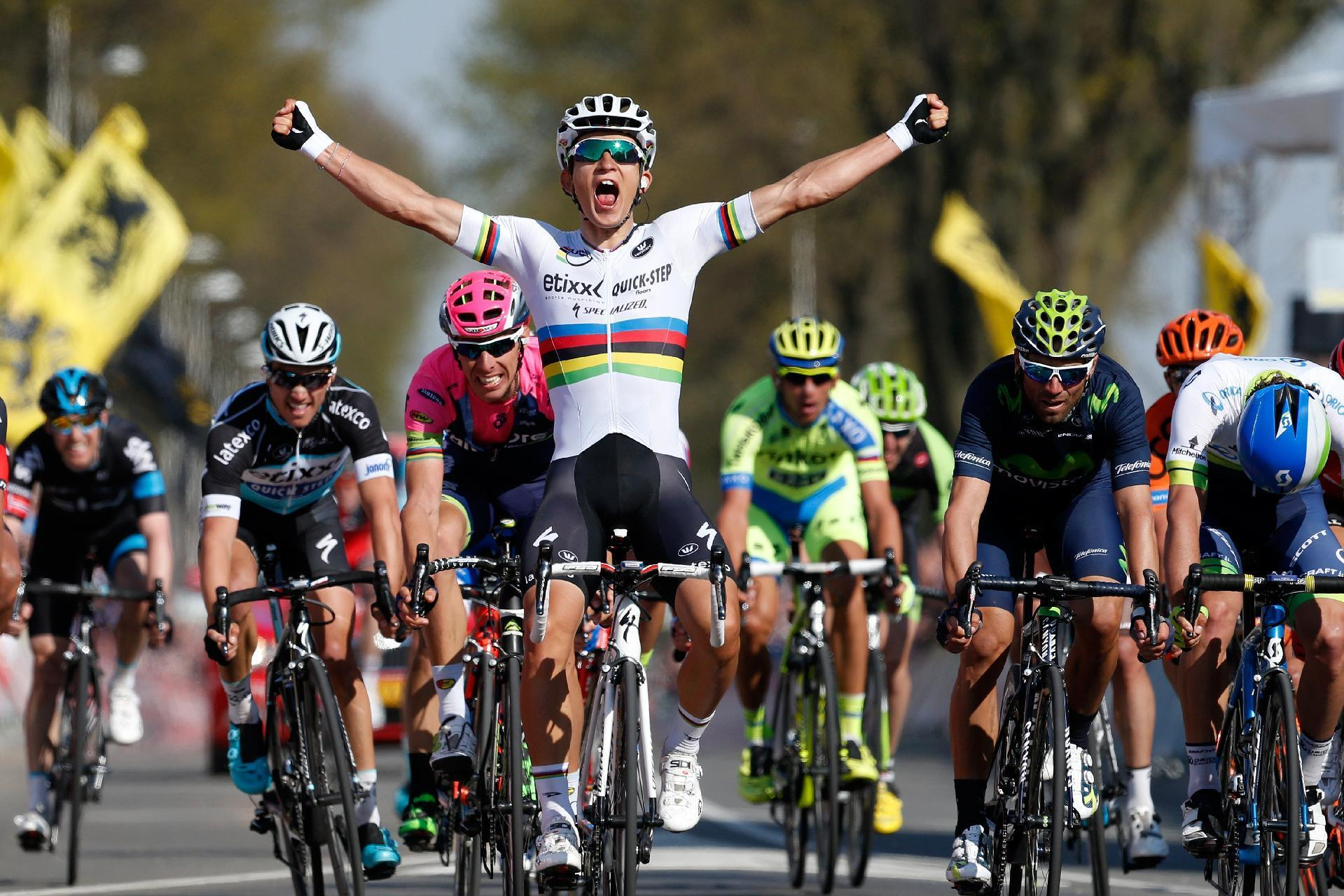 World champion Kwiatkowski wins Amstel Gold Race