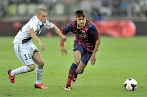 Lechia Gdansk 2-2 Barcelona: Neymar makes debut in friendly draw