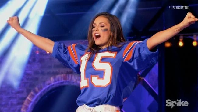 Nina Dobrev Wants To Be Tim Tebow's 'Cheerleader' On The Latest 'Lip Sync Battle'