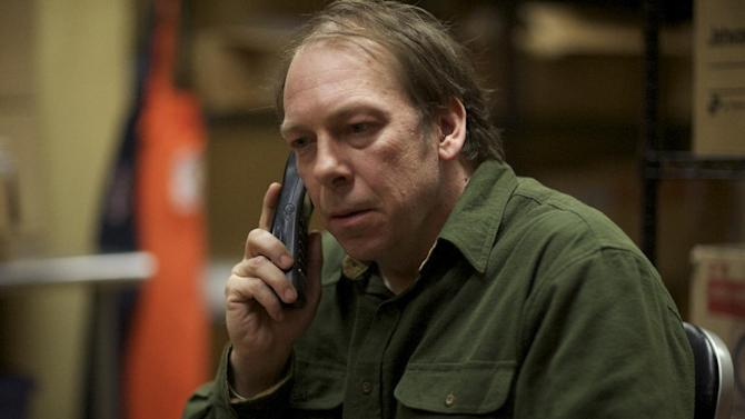 "FILE - This undated publicity file photo released by Magnolia Pictures shows Bill Camp in a scene from the film, ""Compliance,"" a Magnolia Pictures release. (AP Photo/Courtesy Magnolia Pictures, File)"