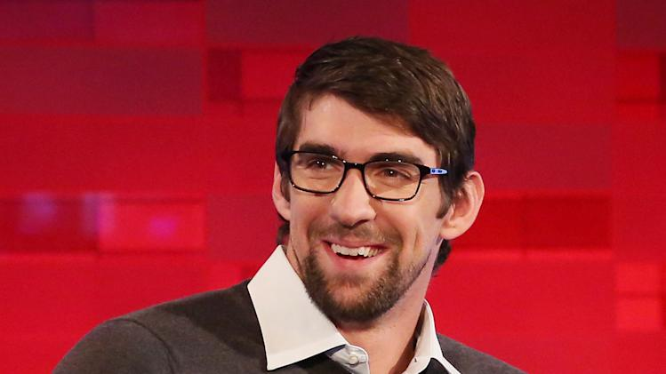 "Michael Phelps Visits ""FOX News"""