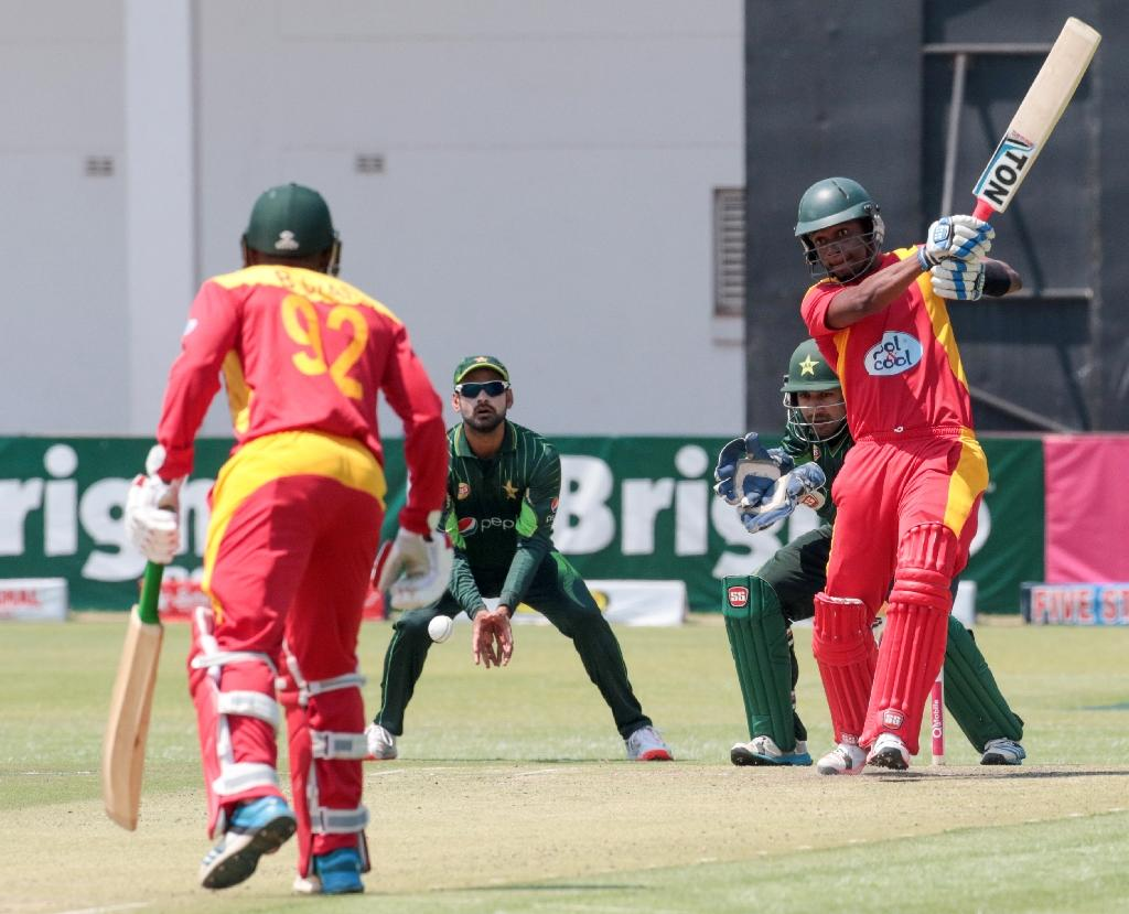 Zimbabwe stun Pakistan to level ODI series at 1-1