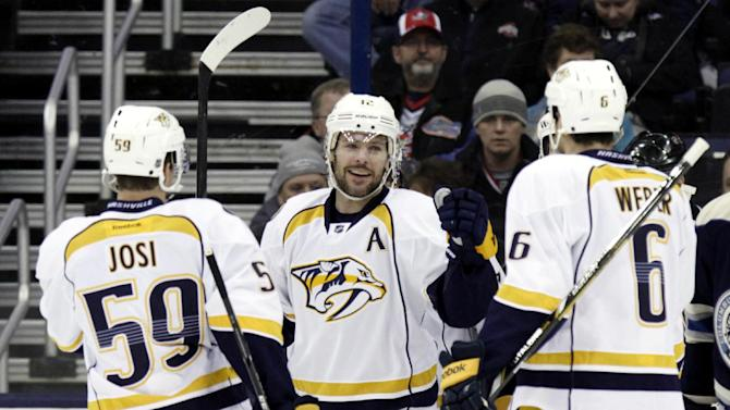 Mazanec and Predators blank Blue Jackets 4-0
