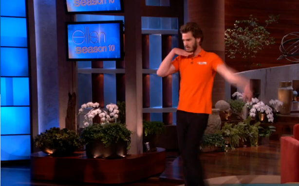 Andrew Garfield Will Dance for Money