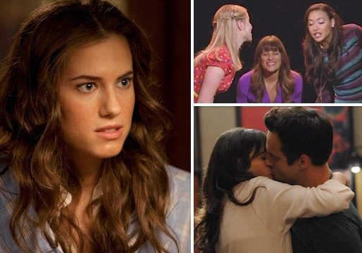Has Girls Gone Wild? Did Glee Short-Change a Reunion? Hot New Girl Necking? And More Qs!