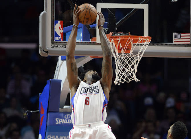 Here's a DeAndre Jordan Reverse Alley-Oop to Remind You the NBA Season Cometh