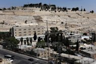 A general view shows an Israeli police station. Israeli police said on Tuesday they had arrested more than 30 alleged online paedophiles after a three-month operation in which a young policewoman posed as a child in phone conversations
