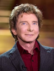 Barry Manilow appears at a press preview for his show &quot;Manilow on Broadway,&quot; at the St. James Theatre on Tuesday, Jan. 22, 2013 in New York. (Photo by Dario Cantatore/Invision/AP)