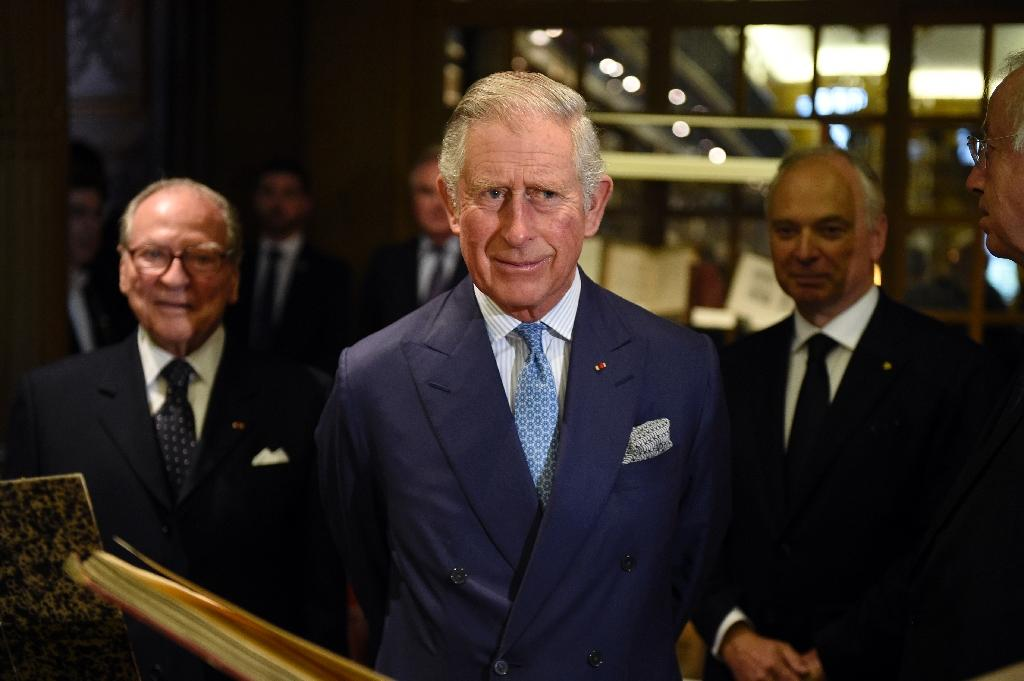 Britain's Prince Charles frets about future of French cheese