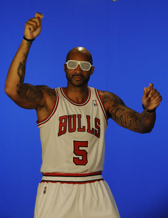 NBA: Chicago Bulls-Media Day