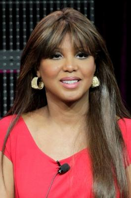 "Toni Braxton speaks during the ""Braxton Family Values"" panel at the WE TV portion of the 2011 Winter TCA press tour held at the Langham Hotel in Pasadena, Calif. on January 7, 2011  -- Getty Images"