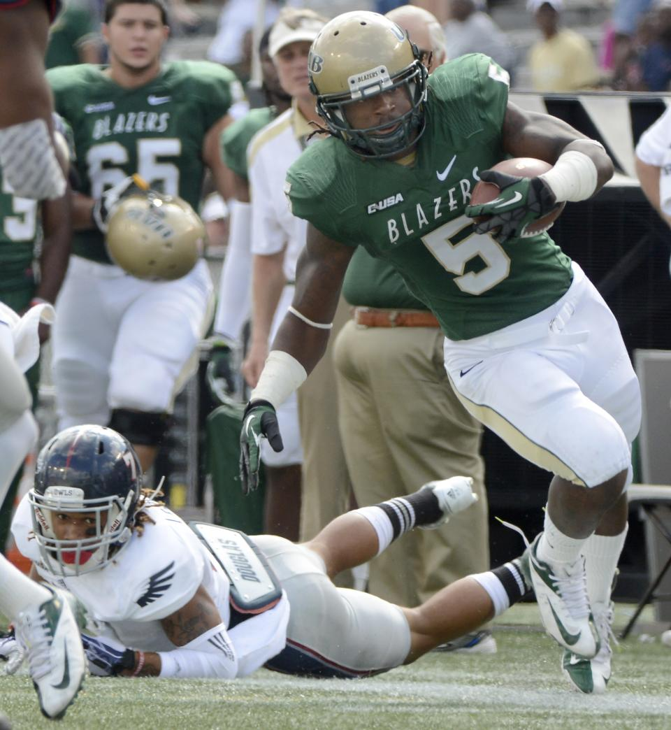 Johnson, Florida Atlantic top UAB 37-23