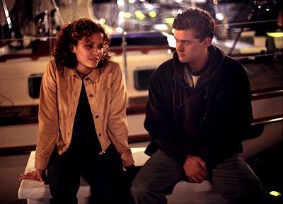 Lourdes Benedicto and Joshua Jackson WB's Dawson's Creek