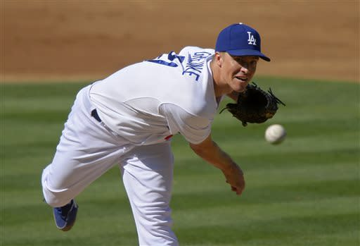 Puig sits as Greinke, Dodgers beat Rockies 1-0